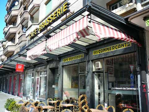 Restaurant Café Brasserie des Commerçants, Carouge