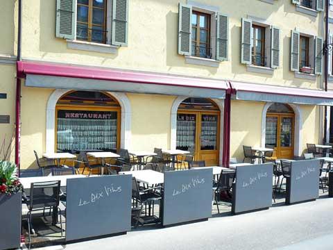 Restaurant Les Dix Vins, Carouge