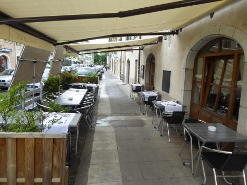 Restaurant Ecorce, Carouge