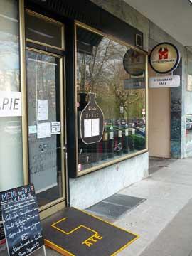 Restaurant Saké, Carouge