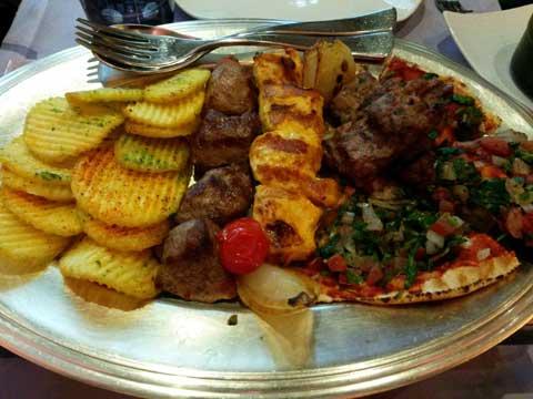 Restaurant Arabesque, Genève