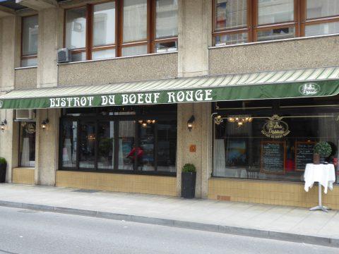 Restaurant le Bistrot du Boeuf Rouge, Genève / Geneva