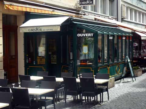 Restaurant Le Carnivor du Centre, Genève