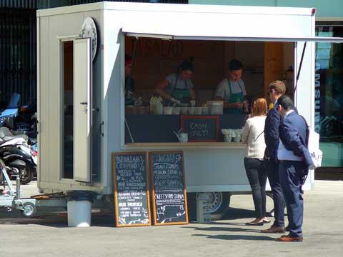 Food Truck ElSalad, Genève