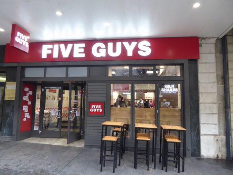 Restaurant Five Guys, Genève