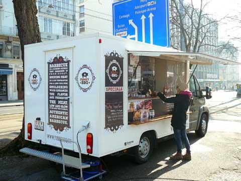 Funky BBQ Food Truck, Genève