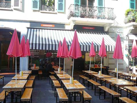Restaurant Hamburger Foundation, Genève