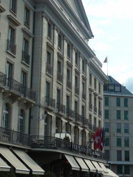 Restaurant Izumi, Genève / Geneva Hotel des Bergues
