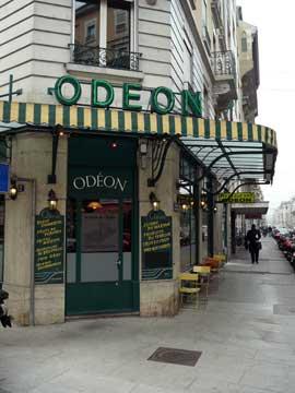 Restaurant Odéon, Genève