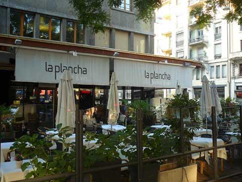 Restaurant La Plancha, Genève
