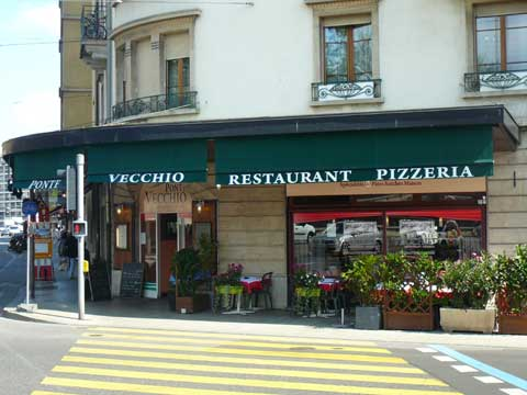 Restaurant pizzeria ponte vecchio gen ve for Apprentissage cuisine geneve