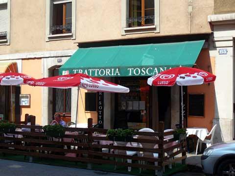 Restaurant Trattoria Toscana, Genève