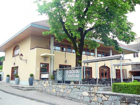Restaurant Le Clos du Château, Promery, France